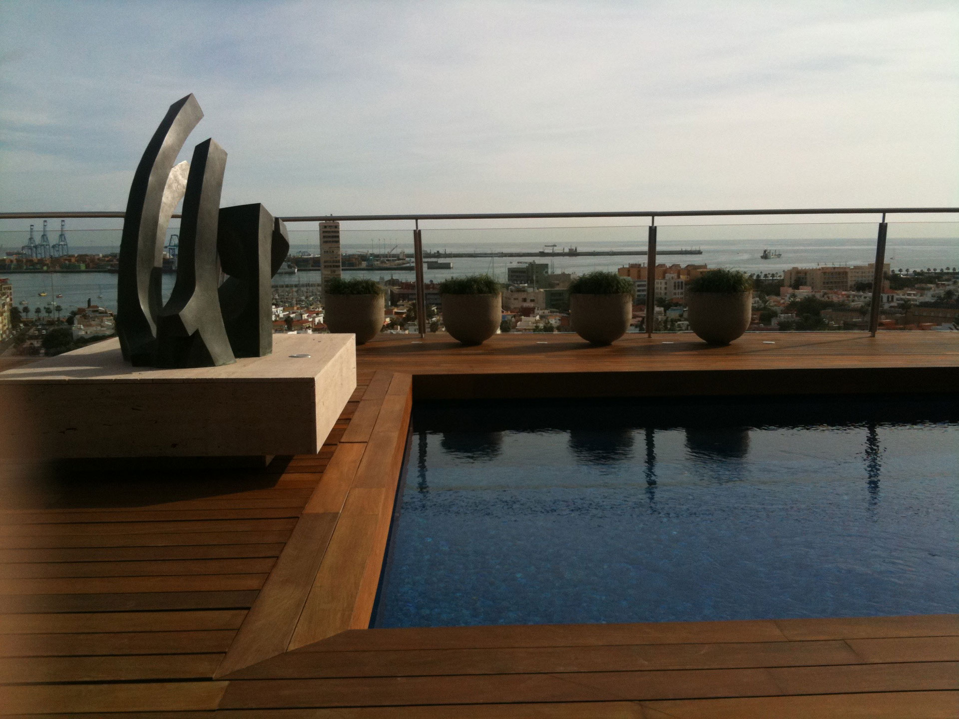 Proyecto arquitectura de Kai Proyectos. Casa AF, piscina