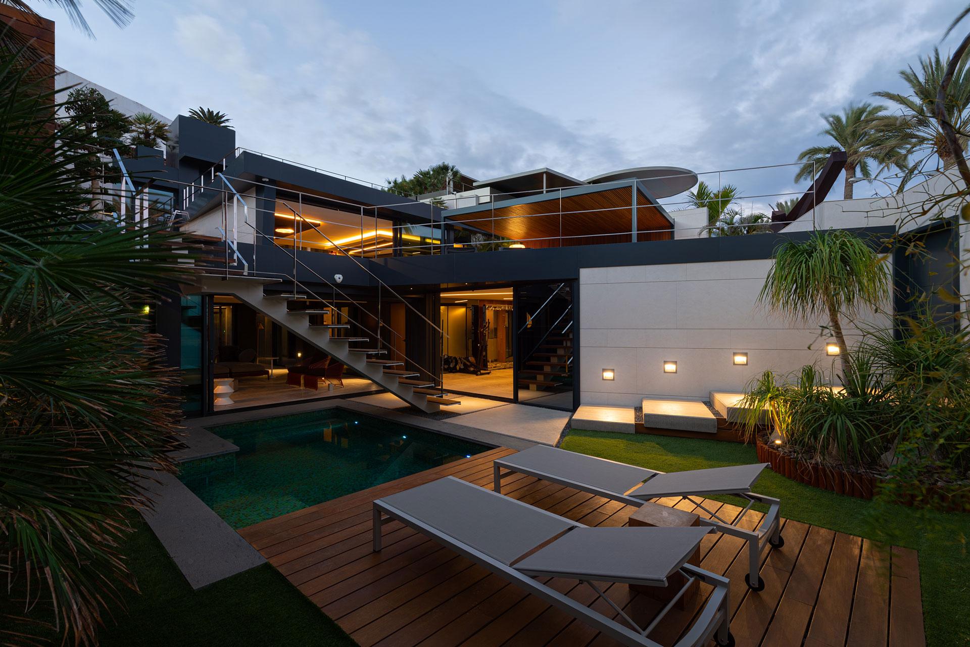 Proyecto arquitectónico de Kai Proyectos. Casa V.S.