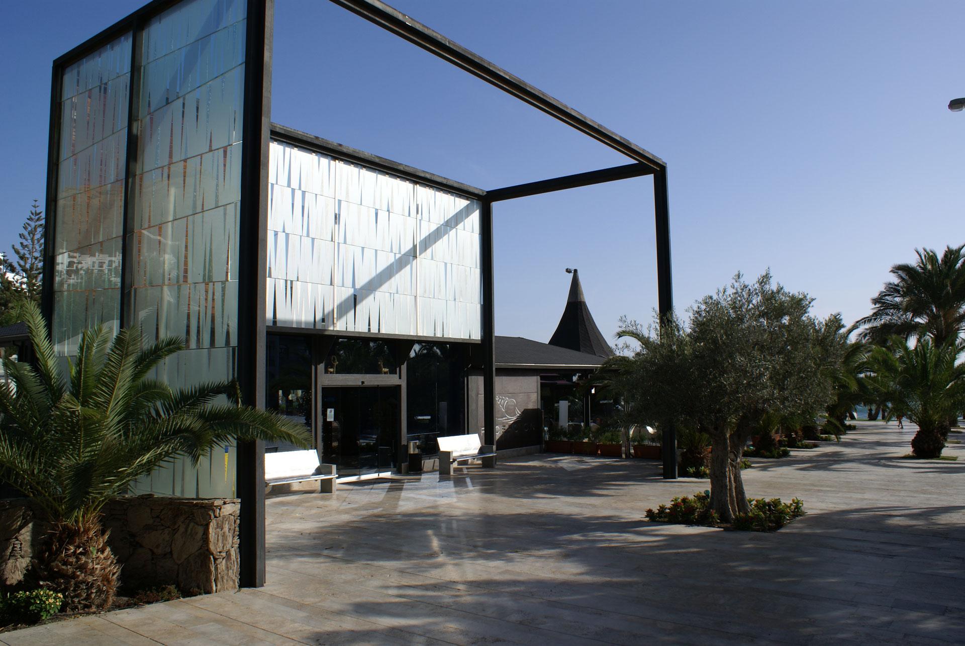 Proyecto arquitectura de Kai Proyectos. Hotel Riviera Beach, entrada