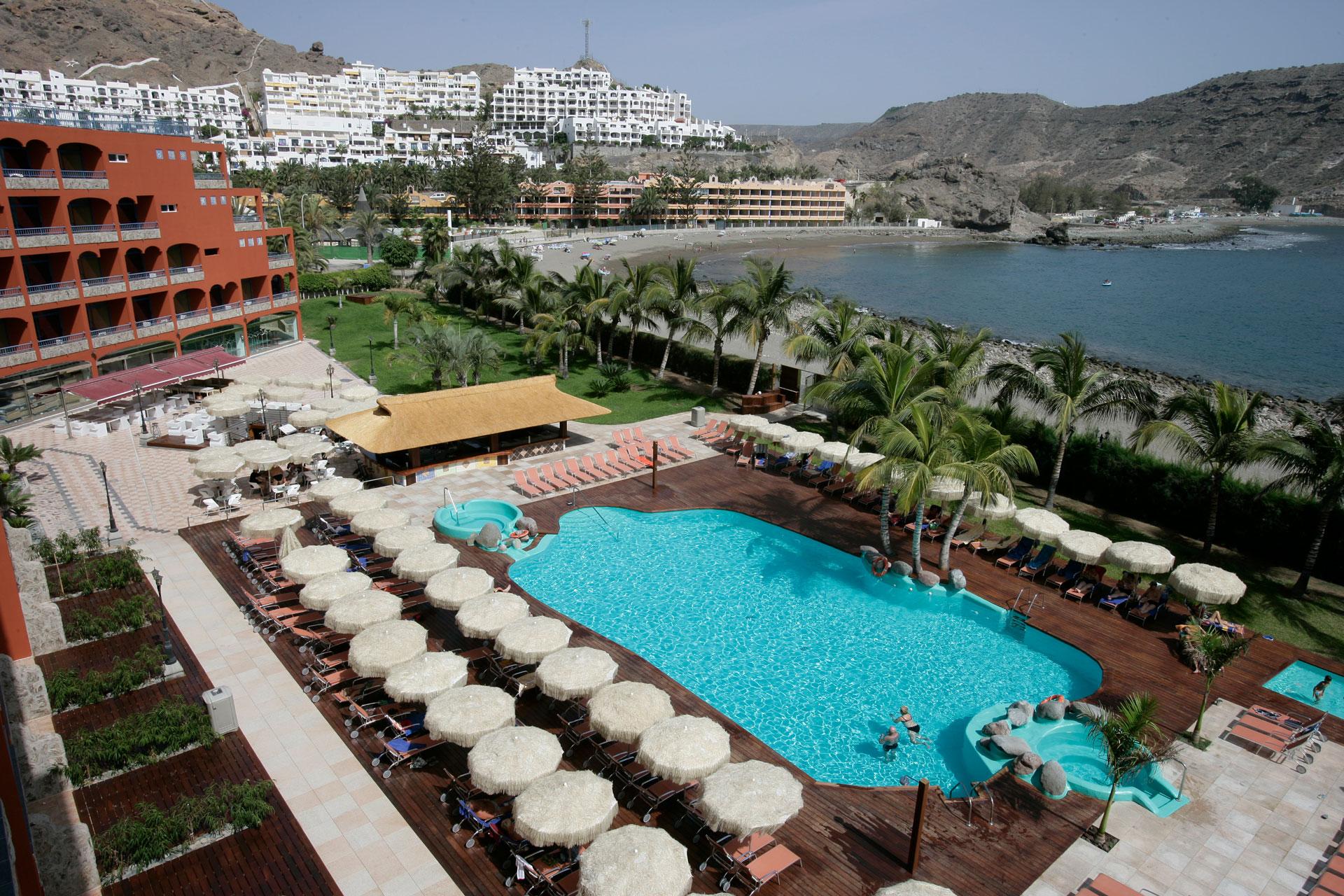 Proyecto arquitectura, hotel Riviera Marina, piscina