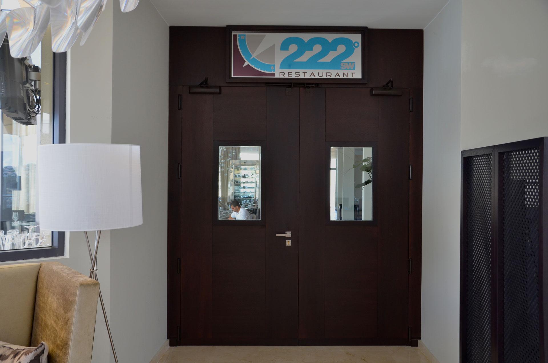 Proyecto de arquitectura de Kai proyectos. Restaurante 222º